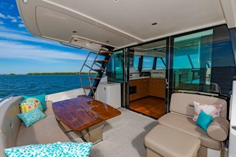 aft deck with galley