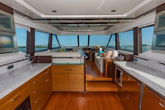 galley and salon