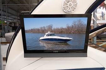 WAKE PERMIT 11 TV in the cockpit