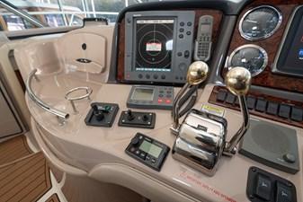 WAKE PERMIT 17 Helm controls