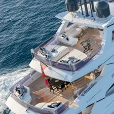 Top and aft deck - EXODUS Sunseeker 131 for sale