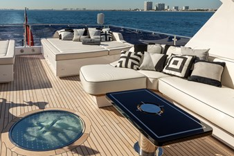 Sun Deck - EXODUS Sunseeker 131 for sale