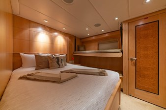 Main Deck Guest Stateroom With Pullman Raised Starboard Side
