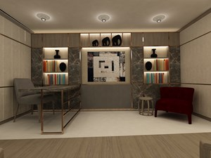 Master Suite 1 - Office.