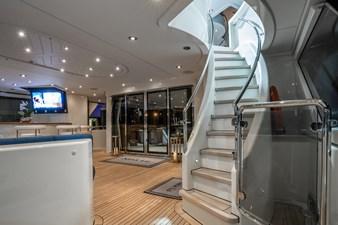 Aft Deck Stairway