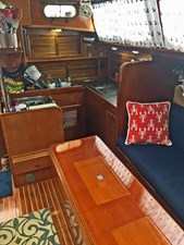 Looking Aft to Galley