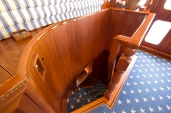 Stairs to Owner's Stateroom