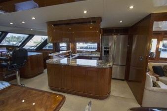 Galley view to strbd