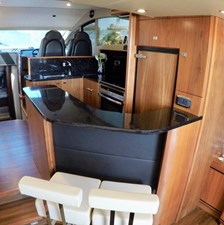 Galley with Bar Seating