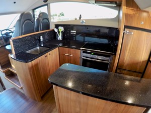 Centrally located galley