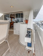 Aft Deck Flip up Docking Station