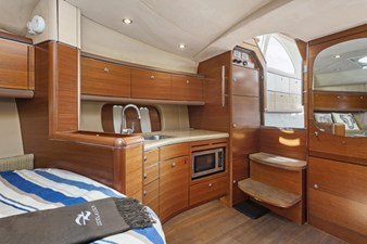 STATEROOM and GALLEY