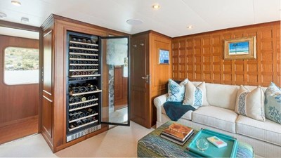Main Deck Office and Wine Storage