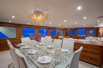 Main Dining Salon Looking Aft
