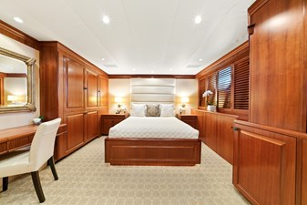 Queen Guest Stateroom: M4 131' 1999/2020 Trident Shipworks Tri-Deck Motor Yacht