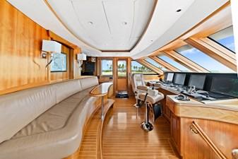 Wheelhouse: M4 131' 1999/2020 Trident Shipworks Tri-Deck Motor Yacht
