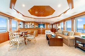 Sky Lounge: M4 131' 1999/2020 Trident Shipworks Tri-Deck Motor Yacht