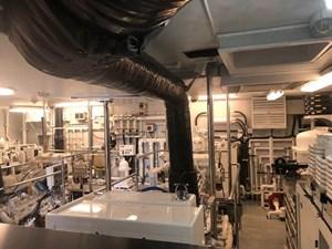 Engine Room: M4 131' 1999/2020 Trident Shipworks Tri-Deck Motor Yacht