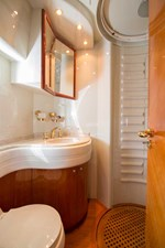 Enchanted Lady 41 Port Guest Stateroom Head