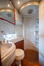 Enchanted Lady 47 Starboard Guest Stateroom Head