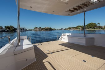 Infinity Deck Can Accommodate a 16' Tender