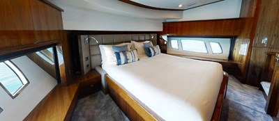 Sunseeker 30 Metre Yacht - Master Cabin 2 - Tuppence