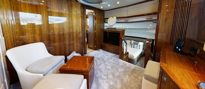 Sunseeker 30 Metre Yacht - Master Cabin Seating - Tuppence