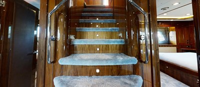 Sunseeker 30 Metre Yacht - Stairs- Tuppence