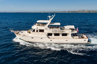 2001 Fleming 75 Pilothouse