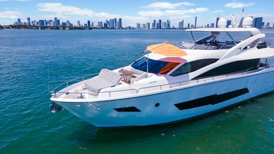 Docqua 3 4_2018 86ft Sunseeker Yacht DOCQUA
