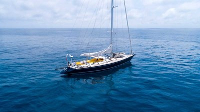 Fifty Fifty yacht sailing