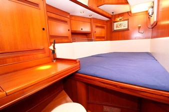 Plum yacht interior