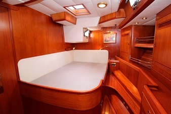 Plum yacht stateroom