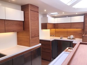 One Shot yacht galley