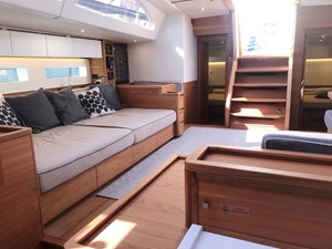 One Shot yacht interior