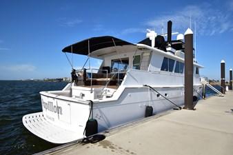 Papillon 3 Papillon 1985 HATTERAS 82 Cockpit Motor Yacht Motor Yacht Yacht MLS #262569 3