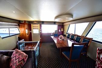 Papillon 5 Papillon 1985 HATTERAS 82 Cockpit Motor Yacht Motor Yacht Yacht MLS #262569 5