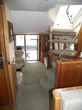 Looking Aft From Bridge Stairs