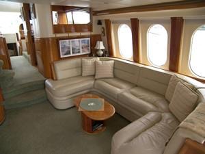 Salon Starboard Settee