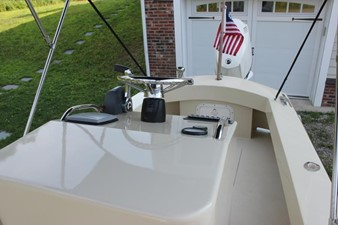 Console looking aft