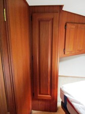 Fore Cabin, port side storage