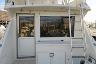 Cockpit forward to Bridge ladder, storage & Salon entrance