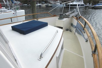 Fore deck, starboard side