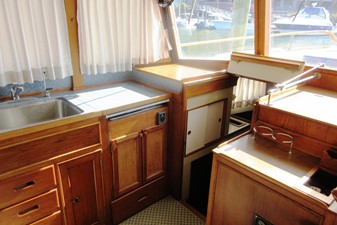 Galley to Fore Cabin entrance