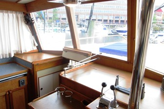 Helm Station, port side forward to Fore Cabin entrance