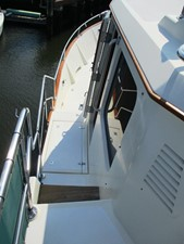 Boat deck, forward port side