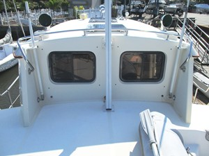 Boat deck forward to Pilothouse