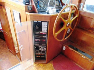 Lower Helm Station & electrical panel