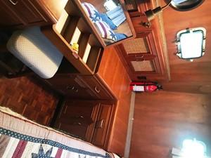 Aft Cabin, starboard desk & vanity detail (Aug '19)