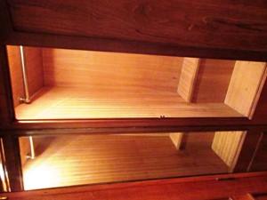 Aft Cabin hanging locker detail